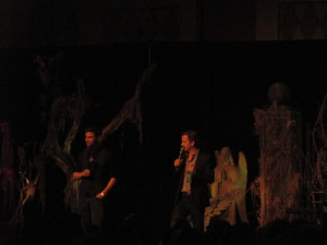 Matt Cohen and Richard Speight Jr