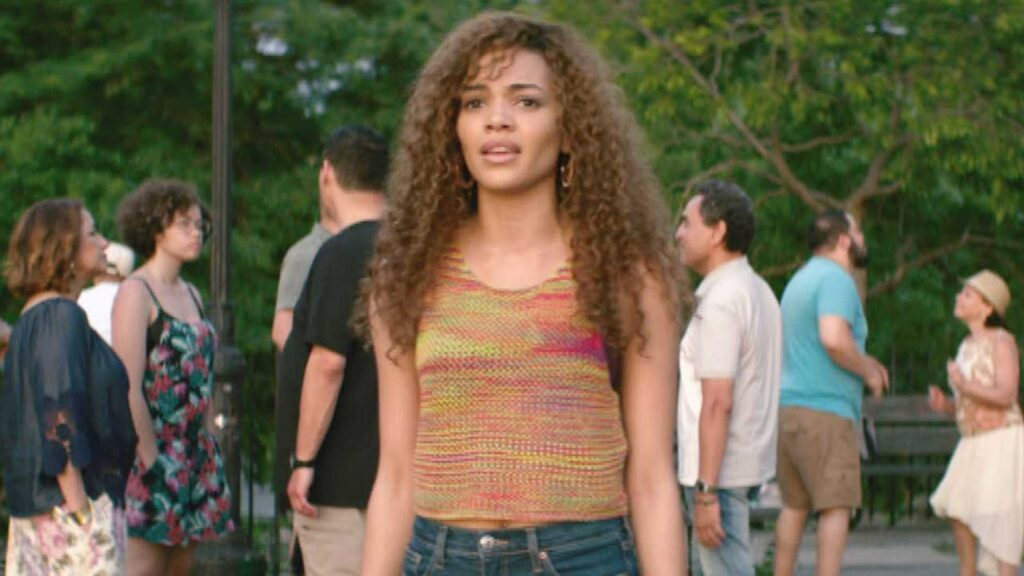 Nina Rosario standing from In The Heights Movie